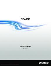 christie cp2230 user manual