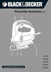 Black & Decker Powerful Solutions KS702PE Original Instructions Manual