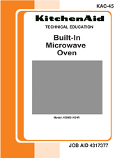 KitchenAid KBMS1454R Technical Education