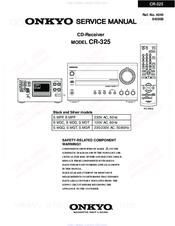 onkyo cr 325 manuals rh manualslib com Onkyo or Denon Onkyo CR 325 Mini System