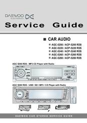 Daewoo Agc 5280 Rds Manuals