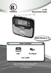 radio shack 12 262 manuals rh manualslib com Radio Shack NOAA Weather Radio Radio Shack Weather Radio