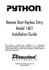 directed electronics python 1401 manuals python alarm wiring diagram directed electronics python 1401 installation manual