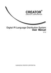 Creator CR-IR3002-16 Manuals