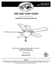 Hampton bay yg204 bn d manuals hampton bay yg204 bn d use and care manual 36 pages hawkins 44 inch ceiling fan mozeypictures Image collections