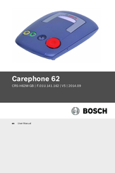 Bosch Carephone 62 User Manual