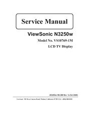 viewsonic vs10769 1m manuals rh manualslib com viewsonic n3260w service manual viewsonic service manual