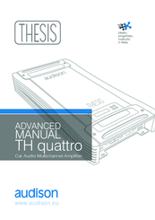 audison thesis quattro manual