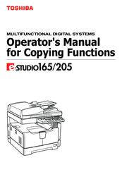 toshiba e studio 205 manuals rh manualslib com Toshiba Printer E Studio 20 toshiba e studio 203l service manual