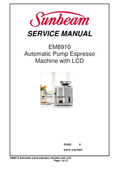 Sunbeam EM8910 Service Manual