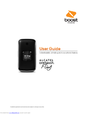 alcatel onetouch fling manuals rh manualslib com alcatel user manual english uk alcatel user manual in english