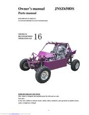 Joyner Go-kart JNSZ650DS Manuals