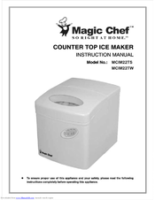 Magic Chef Mcim22tw Manuals