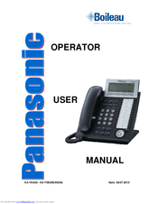 panasonic kx t7630 manuals rh manualslib com panasonic kx-t7630 operating manual panasonic kx-t7630 instruction manual