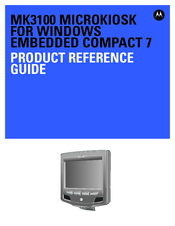 Motorola MK3100 Product Reference Manual