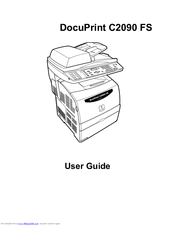 FUJI XEROX DOCUPRINT C2090FS DRIVER FOR WINDOWS 7