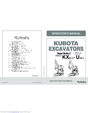 kubota super series 2 kx 91 3 operator s manual pdf download rh manualslib com Kubota L4060 Parts Manual Kubota Owner's Manual