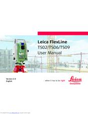 leica ts06 manuals rh manualslib com leica tps 1200 manual español leica tps1200 field applications manual