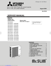 Manuals And User Guides For Mitsubishi Electric Mr Slim Pu P35vgaa We Have 2 Available Free Pdf