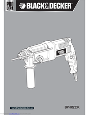 Black & Decker BPHR223K User Manual