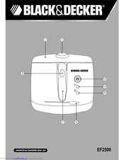Black & Decker EF2500 User Manual