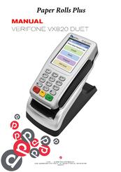 verifone vx 820 manuals rh manualslib com VeriFone Vx570 Manual PDF VeriFone Vx570 Manual PDF