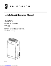 friedrich portable air conditioner manual