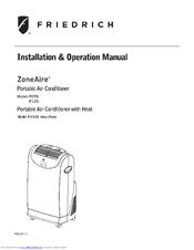 friedrich zoneaire ph14b manuals rh manualslib com friedrich air conditioners manual friedrich air conditioning manual