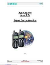 Siemens A36 Repair Documentation