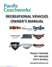 Manuals And User Guides For Pacific Coachworks Rage N We Have 1 Manual Available Free Pdf Owner S