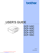 Brother DCP-163C User Manual