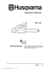 husqvarna 141 manuals rh manualslib com Husqvarna 450 Chainsaw Repair Manual Husqvarna 55 Rancher Chainsaw