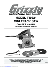 Grizzly T10824 Owner's Manual