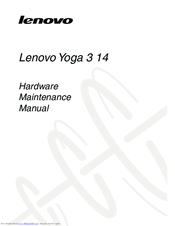 LENOVO YOGA 3 14 HARDWARE MAINTENANCE MANUAL Pdf Download