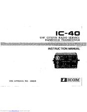 icom ic 40 manuals rh manualslib com