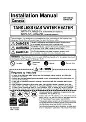 Noritz nr71 od manuals noritz nr71 od installation manual 65 pages noritz tankless gas water heater installation manual sciox Gallery
