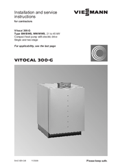 viessmann vitocal 300 g manuals. Black Bedroom Furniture Sets. Home Design Ideas