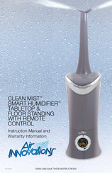Air Innovations Clean Mist Smart Humidifier Instruction Manual