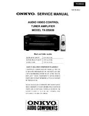 onkyo tx ds939 service manual pdf download rh manualslib com onkyo tx-ds939 review onkyo integra tx-ds939 service manual