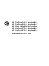 hp elitebook 850 g1 manuals rh manualslib com 840 g1 service manual 650 g1 service manual