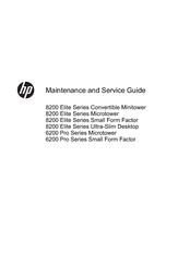 HP 8200 ELITE SERIES MAINTENANCE AND SERVICE MANUAL Pdf