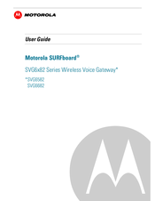 Motorola SURFboard SVG6582 Manuals
