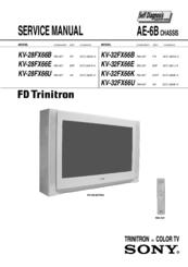sony trinitron kv 28fx66e manuals rh manualslib com sony trinitron kv-m2100e manual sony trinitron kv-19ts20 manual
