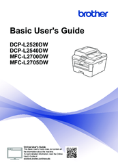 Brother DCP-L2520DW Basic User's Manual