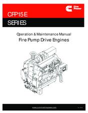 CUMMINS FIRE POWER CFP15E SERIES OPERATION & MAINTENANCE