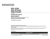 kenwood kdc bt562u manuals kenwood kdc bt562u instruction manual