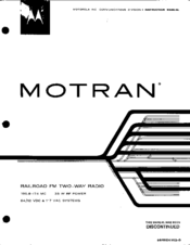 Motorola Motran Manual