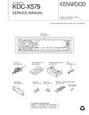 kenwood kdc x579 manuals rh manualslib com Kenwood KDC Wiring-Diagram Kenwood KDC- 138
