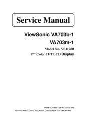 Viewsonic Lcd Display Vs11280 Manuals Manualslib