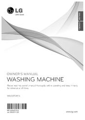 LG WM3370H*A Owner's Manual